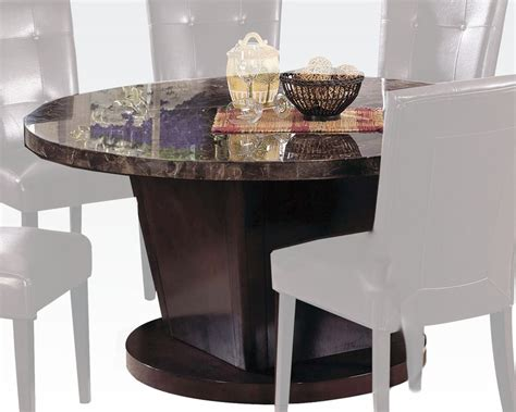 acme marble dining table acme black marble top dining table danville ac07003