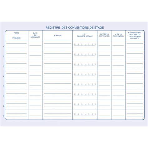 convention bureau d 騁ude technique registre des conventions de stage suivi des stagiaires