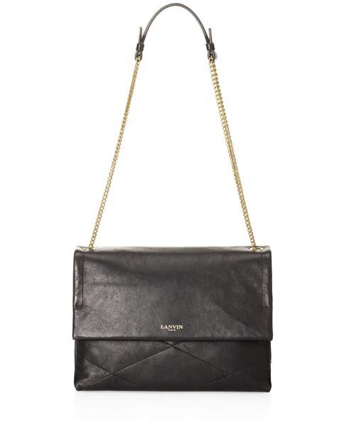 8103 Black Shoulder Bag lanvin shoulder bag in black lyst