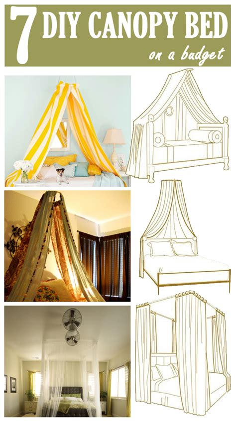 diy canopy bed 7 diy canopy beds