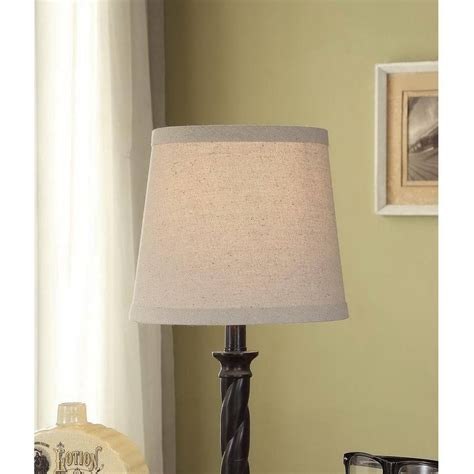 better homes and gardens l shades better homes and gardens brown sateen square bell