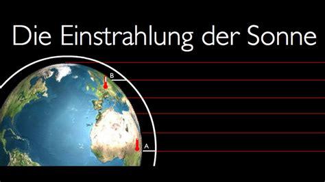 Die Wiege Der Sonne 1 Die Einstrahlung Der Sonne Klimafaktoren Teil I