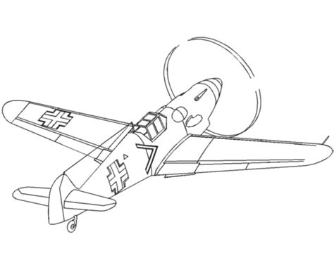 fire fighter plane colouring pages