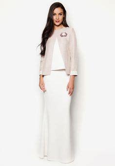 Set Rina Glw Setelan Kebaya Muslim Set Baju Batik Wanita emel x liyana jasmay juwita modern kurung with sequin lace sleeves hem pink this sweet