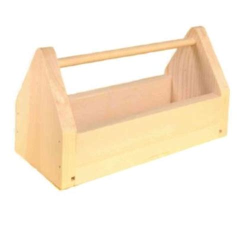 Home Depot Small Wood Box Houseworks Tool Box Kit 94501 The Home Depot