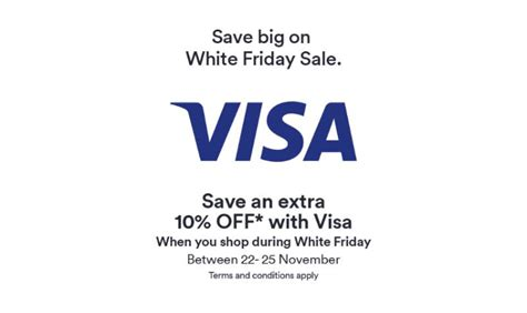 Visa Gift Card Sale - extra 10 off white friday sale at souq with hsbc visa cards edealo