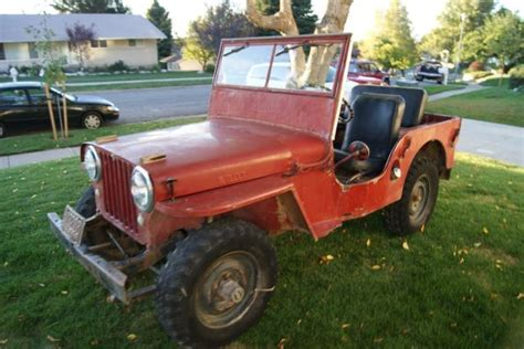 Ready Nulife Rejuvenate Original willys cj2a xfgiven type xfields type xfgiven type 1948 for sale 215549 1948 cj2a