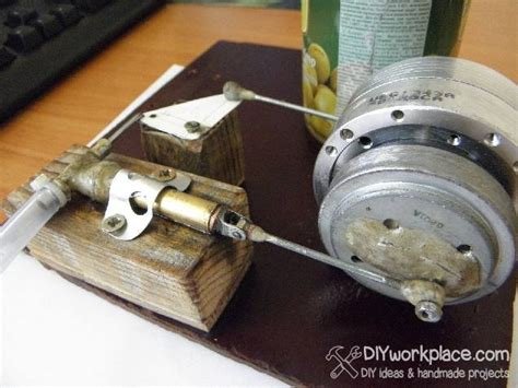Handmade Engine - diy steam engine