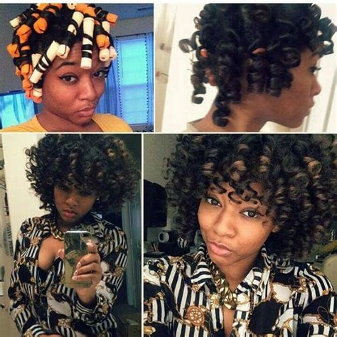 perm rod on weave 17 best images about natural hair on pinterest updo