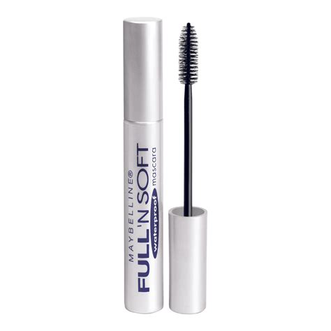 Maybelline Waterproof Mascara buy n soft waterproof mascara in black 8 2 ml by maybelline priceline