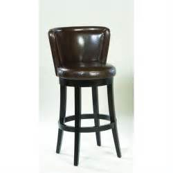 Leather Swivel Bar Stool Armen Living Lisbon 26 Quot Leather Swivel Counter Espresso Bar Stool Ebay