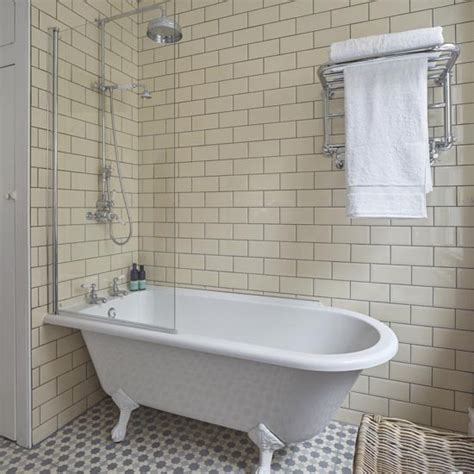 Roll Top Bath With Shower Screen bath with shower take a look at this brilliant bathroom