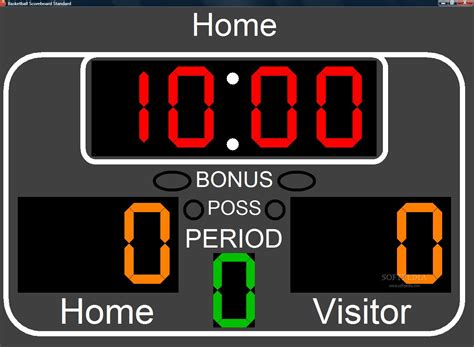 scoreboard for golf ball horseshoes mini hockey