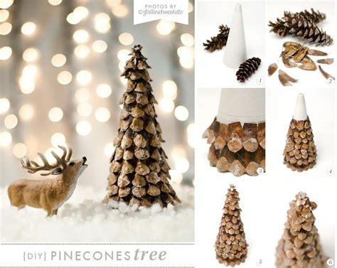 decorare pigne x natale 30 decorazioni natalizie ottenute dal riciclo delle pigne