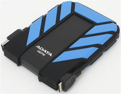 Hardisk External Adata a look at adata s dashdrive durable hd710 waterproof drive the tech report page 1