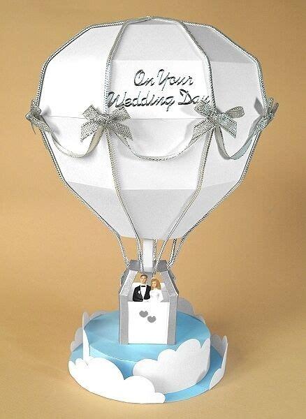 card making templates   hot air balloon display