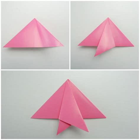 Simple Origami Tutorial - easy origami fish origami for easy peasy and