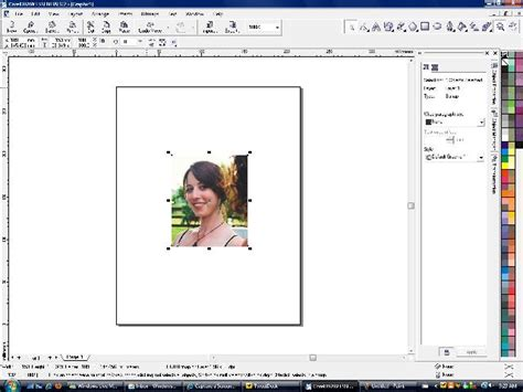 coreldraw advanced tutorial how to set up a portrait composition in corel draw