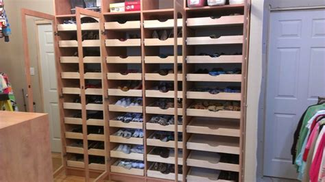 Closet Shoe Organizer Plans Ideas Advices For Closet Organization Systems Mega Shoe Storage Traditional Closet New Orleans By Singer Kitchens