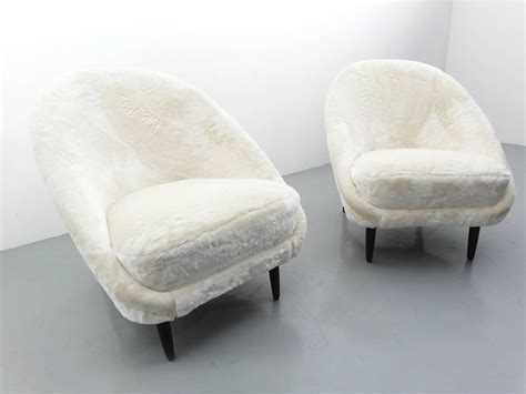 Faux Fur Chairs by Theo Ruth Artifort Club Chairs Faux Fur At 1stdibs