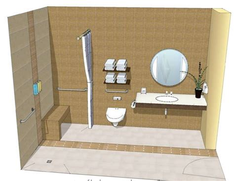 barrier free bathroom design barrier free bathroom health care interior design