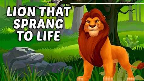 lion biography in english the lion that sprang to life kids animated story in