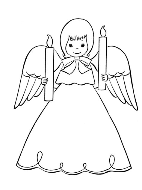 simple angel coloring page christmas angels coloring pages coloring home