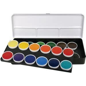 set transparent color finetec watercolor paint transparent 24 color set color