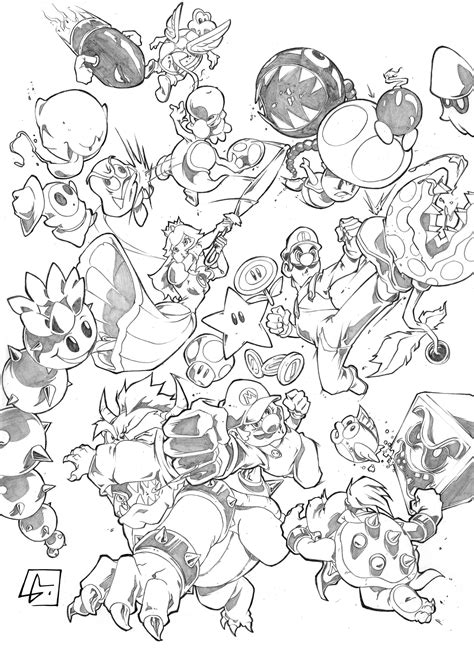 mario enemies coloring pages mario enemies coloring pages coloring coloring pages
