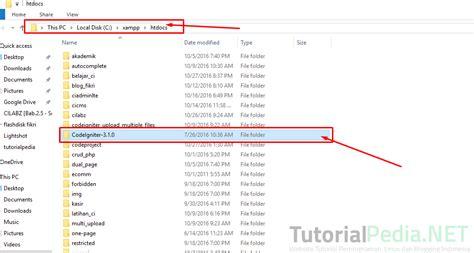 tutorial codeigniter indonesia tutorial install codeigniter untuk pemula tutorialpedia