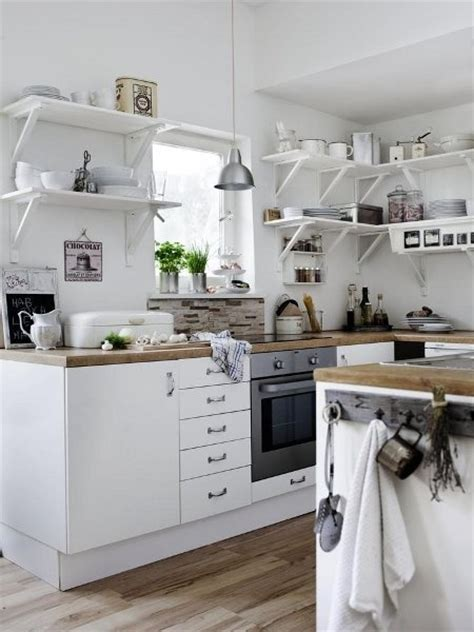 small kitchen open shelving white kitchen open shelving dream home pinterest