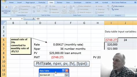 tutorial excel data table image gallery two way datatable