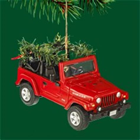 all things jeep sold out jeep wrangler christmas ornament