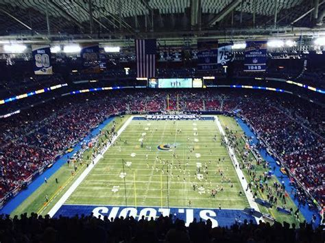 st louis ram stadium not a 3 professional team market why the rams want to