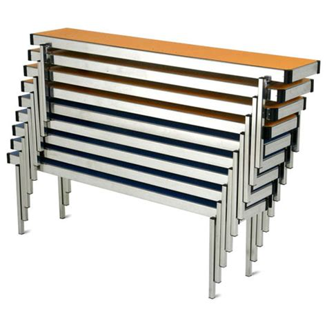 school bench size easylift stacking school bench