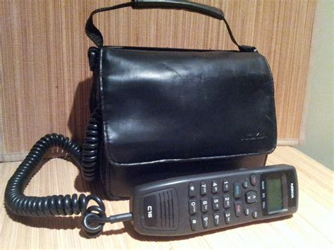 vintage nokia brick bag cell phone 80s 90s by
