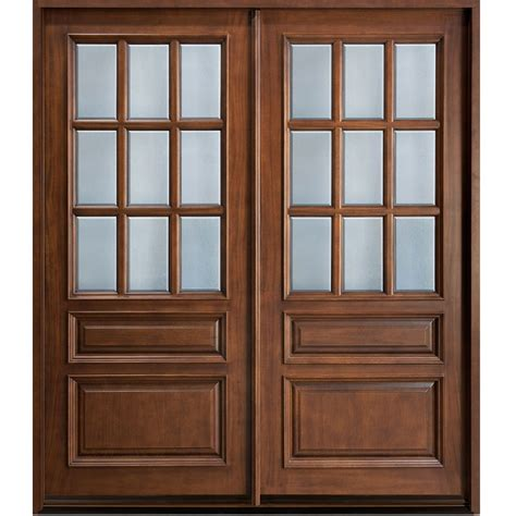 Glass Panel Doors Exterior Glass Wooden Door Hpd478 Glass Panel Doors Al Habib Panel Doors