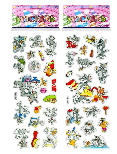 Tom And Jerry Stickers