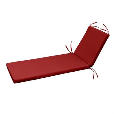 chaise lounge cushions cheap knife edge chaise lounge cushion oak cliff quarry red