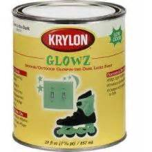 glow in the urethane paint exterior glow paint paint glows in the for 4 hours