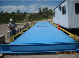 truck scale installations   johnson scale   counting scales