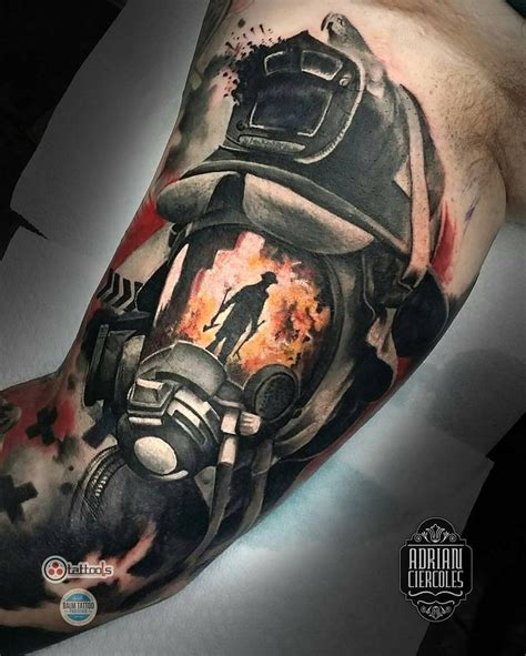 firefighter tattoo designs 25 best firefighter tattoos ideas on