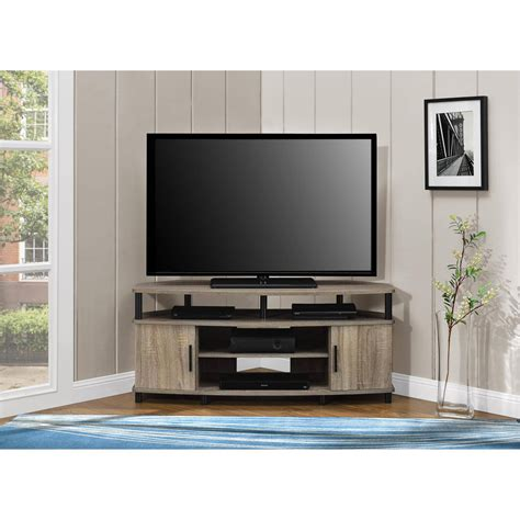 corner media cabinets flat screen tvs corner tv stand media console for flat screens sonoma oak