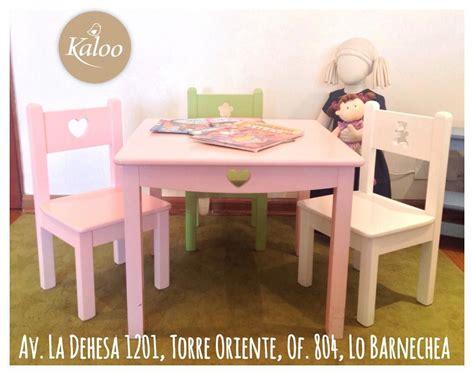 mesa con silla infantil mesa y sillas infantiles puedes escoger el tono y figura
