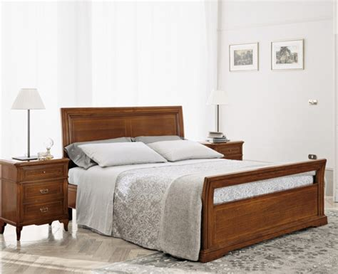 Poplar Furniture by Bed Frame Made From Solid Poplar 4184 Bruno Piombini Luxury Furniture Mr