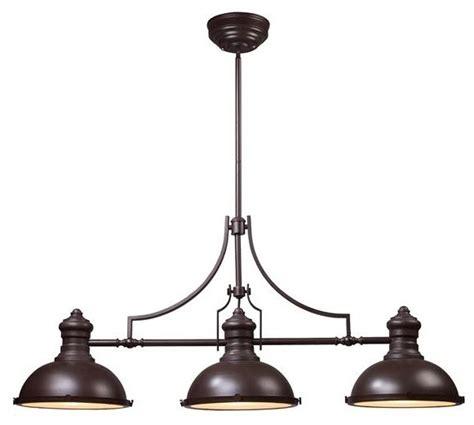 Pool Table Pendant Lights Elk Lighting 66135 Industrial Outdoor Products By Elite Fixtures