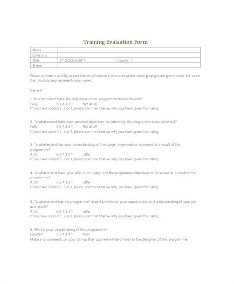 Sle Training Feedback Forms 16 Free Documents In Pdf Doc Sales Coaching Template