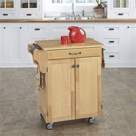 small kitchen carts and islands home styles 9001 00 small kitchen cabinet cart atg stores