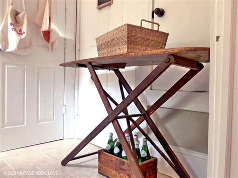 vintage ironing board cabinet bar cabinet