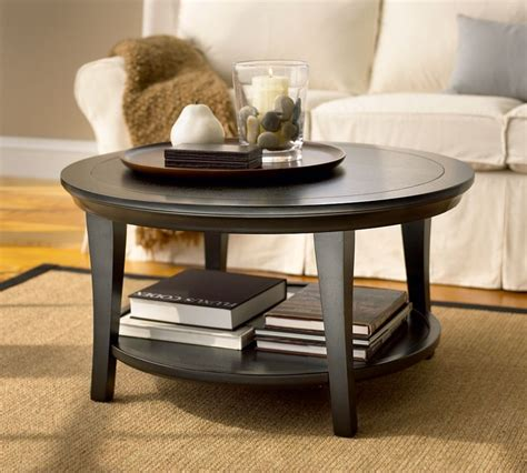 round coffee table decor round crate amp barrel small coffee